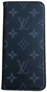 Louis vuitton Eclipse Monogram XS Max Folio Iphone case LV