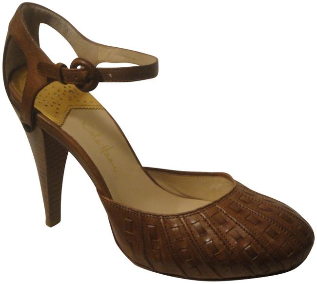Item - Brown 7b Whiskey Ankle Strap Sandals Size US 7 Regular (M, B)
