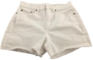 Lou & Grey High Rise Denim Shorts-Light Wash