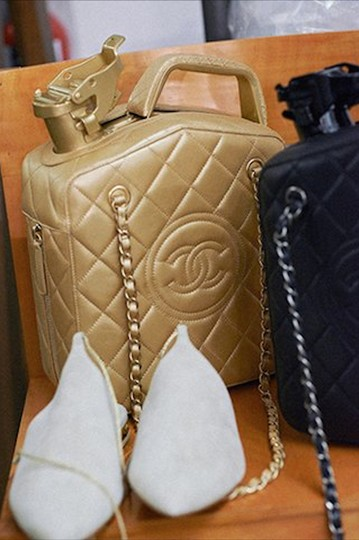 Chanel Jerry Can Cruise Collection Limited Edition Dubai By Night Rare Cross Body Bag Image 2