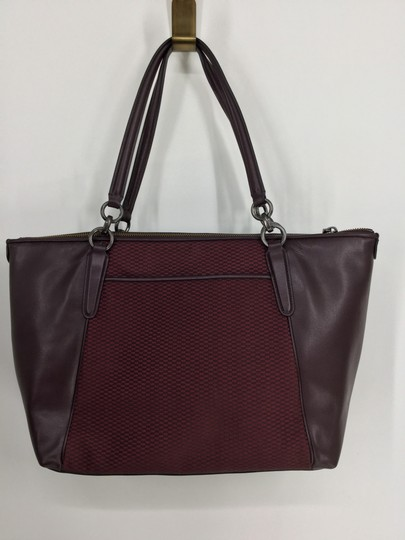 Coach Tote in Oxblood Image 1