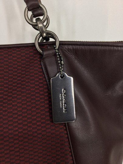 Coach Tote in Oxblood Image 10