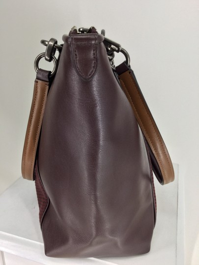 Coach Tote in Oxblood Image 2
