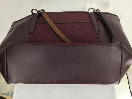 Coach Tote in Oxblood Image 3