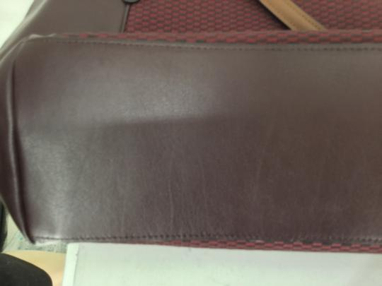 Coach Tote in Oxblood Image 5