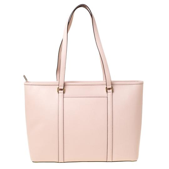 Michael Kors Leather Nylon Tote in Pink Image 1