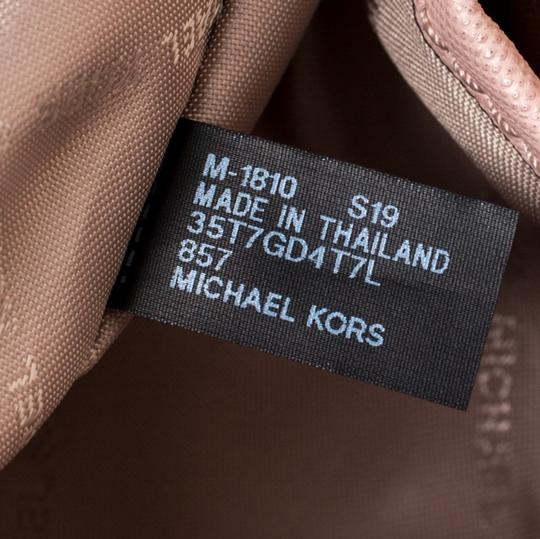 Michael Kors Leather Nylon Tote in Pink Image 10