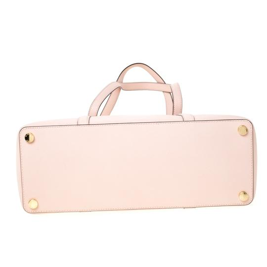 Michael Kors Leather Nylon Tote in Pink Image 4
