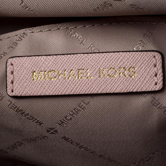 Michael Kors Leather Nylon Tote in Pink Image 9