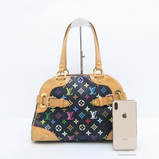 Louis Vuitton Lv Claudia Multicolor Canvas Shoulder Bag Image 1