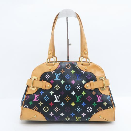 Louis Vuitton Lv Claudia Multicolor Canvas Shoulder Bag Image 2