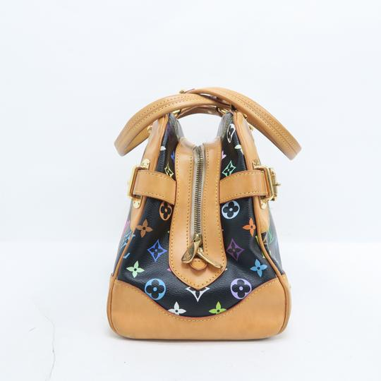 Louis Vuitton Lv Claudia Multicolor Canvas Shoulder Bag Image 3