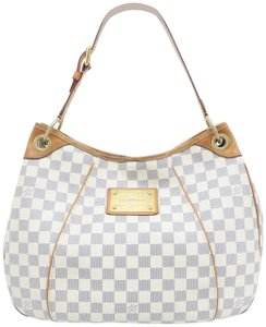 Louis Vuitton Lv Damier Azur Galliera Pm Hobo Bag