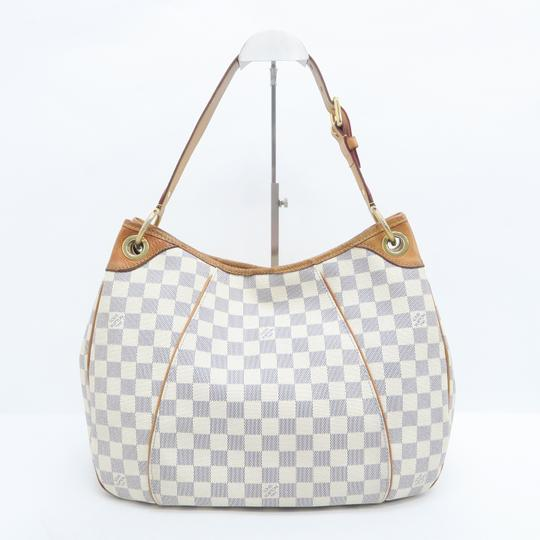 Louis Vuitton Lv Damier Azur Galliera Pm Hobo Bag Image 2