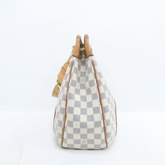 Louis Vuitton Lv Damier Azur Galliera Pm Hobo Bag Image 3