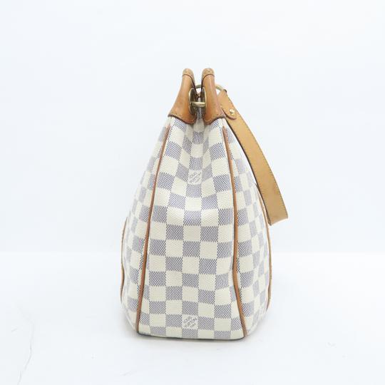 Louis Vuitton Lv Damier Azur Galliera Pm Hobo Bag Image 4