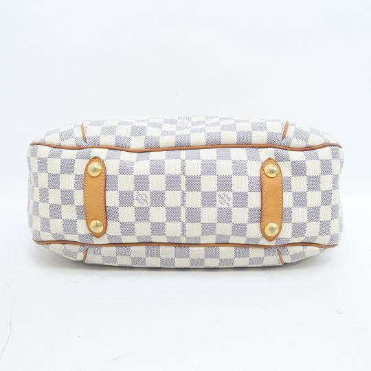 Louis Vuitton Lv Damier Azur Galliera Pm Hobo Bag Image 5