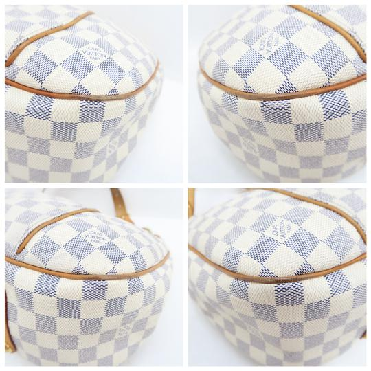 Louis Vuitton Lv Damier Azur Galliera Pm Hobo Bag Image 6