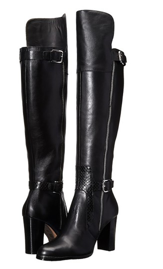Donald J. Pliner Quinto Over-the-knee Tall Knee Quinto black Boots Image 0