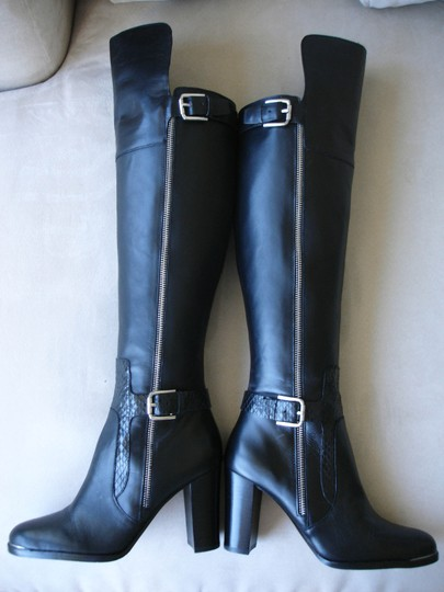 Donald J. Pliner Quinto Over-the-knee Tall Knee Quinto black Boots Image 3