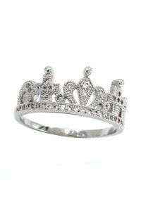 Ocean Fashion Fashion wild crown ring