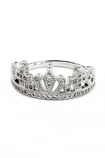 Ocean Fashion Fashion wild crown ring Image 2