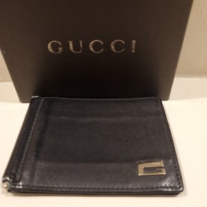 Gucci GUCCI Clip Fold Wallet with Card Holder