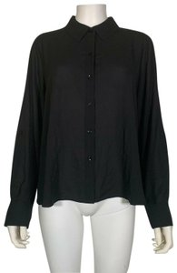 INC International Concepts Polyester Top Black