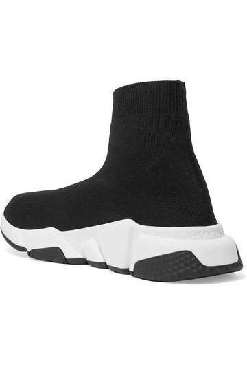 Balenciaga Speed Sneaker Sneakers High Top Black Athletic Image 4