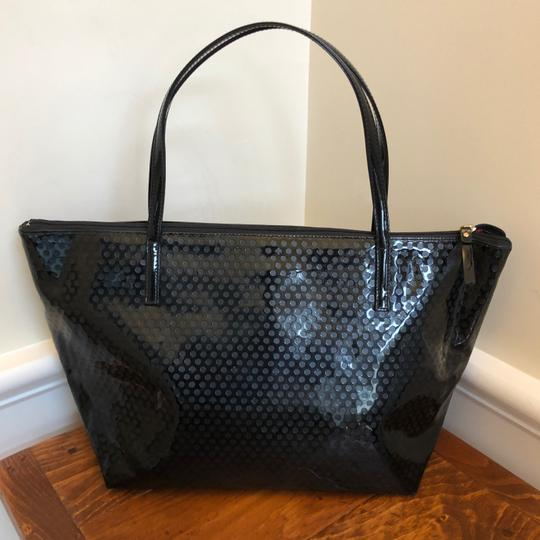 Kate Spade Patten Leather Tote in Black Image 1