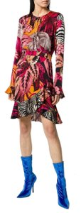 Just Cavalli short dress Multicolor Viscose on Tradesy