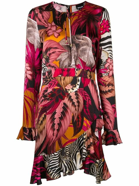 Just Cavalli short dress Multicolor Viscose on Tradesy Image 3