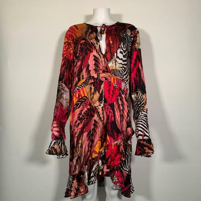 Just Cavalli short dress Multicolor Viscose on Tradesy Image 5