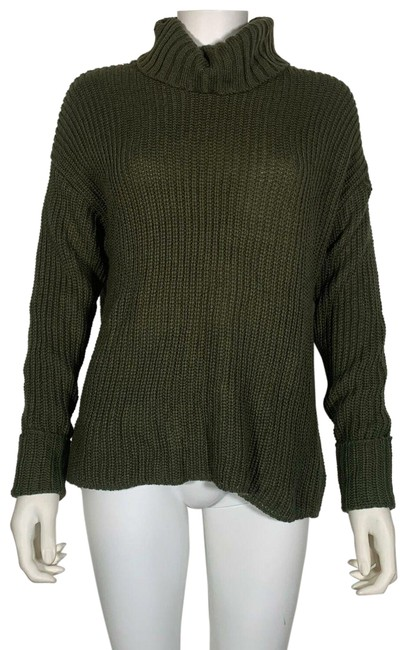 Preload https://img-static.tradesy.com/item/26102341/american-rag-turtleneck-olive-lace-up-women-s-new-green-sweater-0-1-650-650.jpg