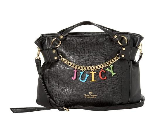 Preload https://img-static.tradesy.com/item/26102379/juicy-couture-crossbody-candy-coated-purse-black-faux-leather-satchel-0-0-540-540.jpg