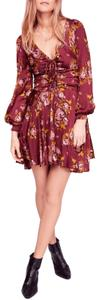 Free People short dress Multicolor Polyester on Tradesy