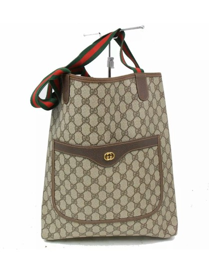 Preload https://img-static.tradesy.com/item/26102383/gucci-good-condition-vintage-brown-coated-canvas-tote-0-5-540-540.jpg