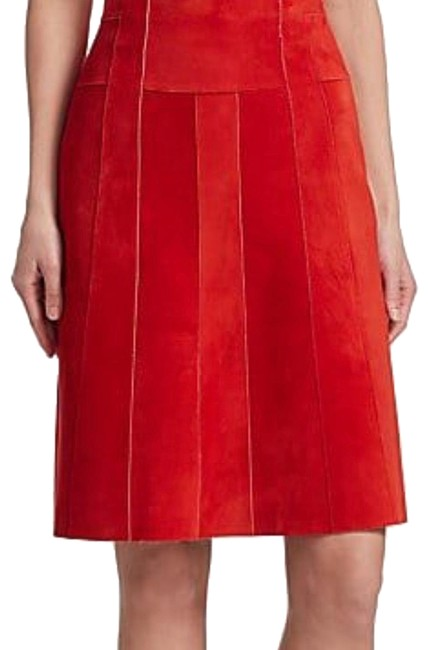 Item - Red A Line Skirt Size 6 (S, 28)