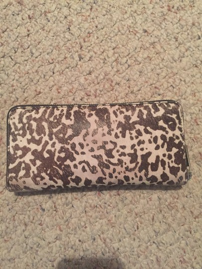 Michael Kors Wristlet in Black and White Image 2