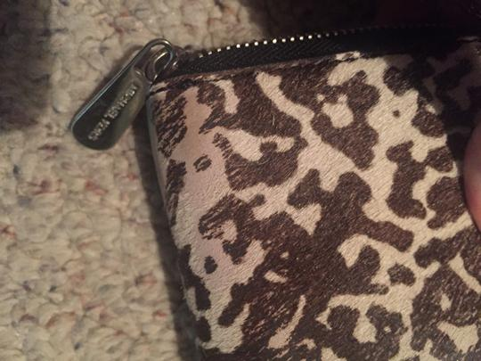 Michael Kors Wristlet in Black and White Image 4