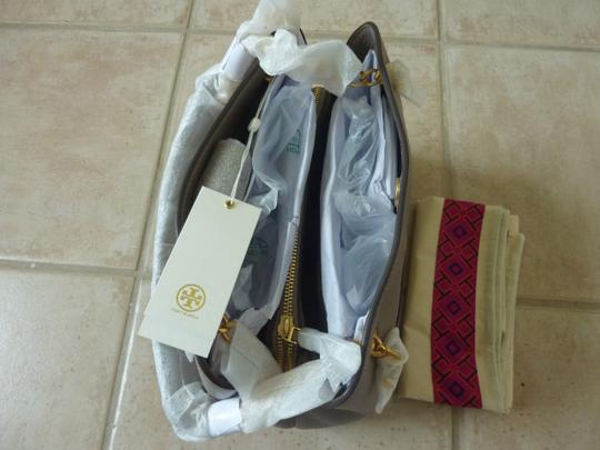 Tory Burch Leather Logo Casual Shoulder Bag Image 4