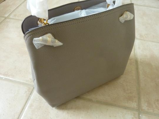 Tory Burch Leather Logo Casual Shoulder Bag Image 7