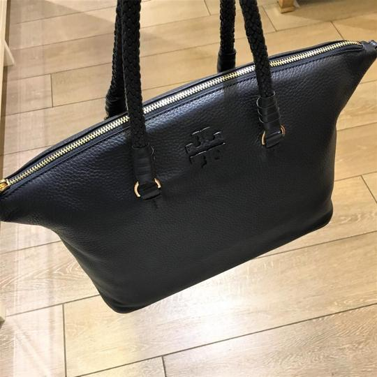 Tory Burch Satchel in Royal Navy Image 1