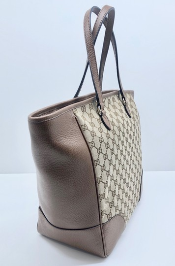Gucci Gg Large Gg Supreme Tote in Beige/ Brown Image 11