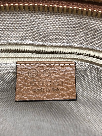 Gucci Gg Large Gg Supreme Tote in Beige/ Brown Image 6