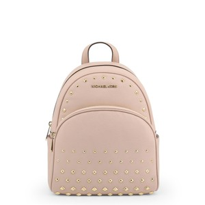 Michael Kors Studded Pebbled Leather Backpack