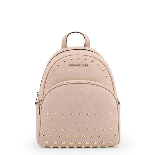 Preload https://img-static.tradesy.com/item/26102649/michael-kors-shoulder-bag-new-studded-pink-pebbled-leather-backpack-0-0-540-540.jpg
