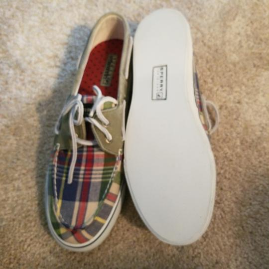 Sperry Plaid Flats Image 1