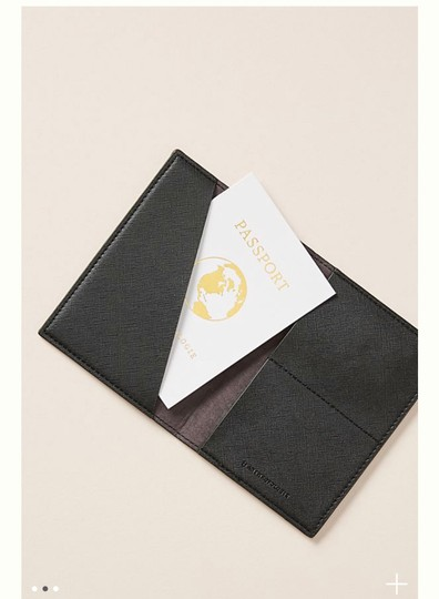 Anthropologie Anthropologie Luna passport holder Image 1