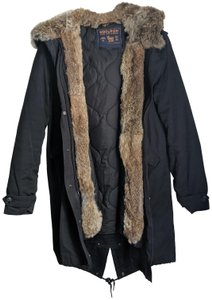 Woolrich Winter Rabbit Fur Coat